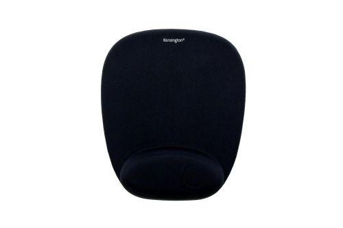 Kensington Mouse Pad with Wrist Rest Foam Black 62384