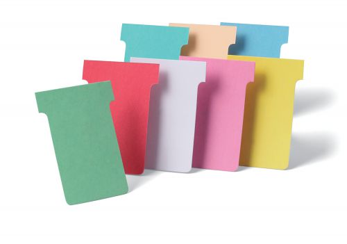 Nobo T-Card Size 2 48 x 85mm Pink (Pack of 100) 32938905