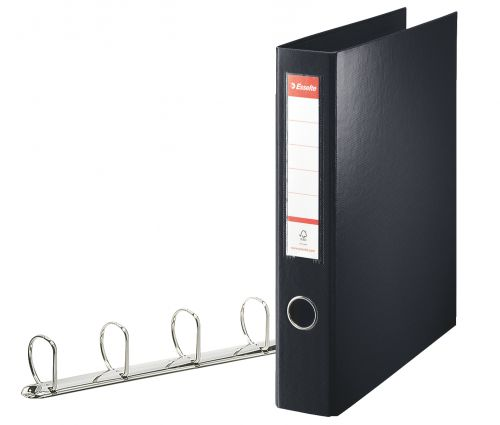 Esselte Standard Ringbinder A4 PP 40mm Black