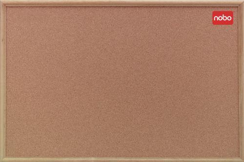 Nobo Classic Noticeboard Cork 600x900mm Oak 37639003