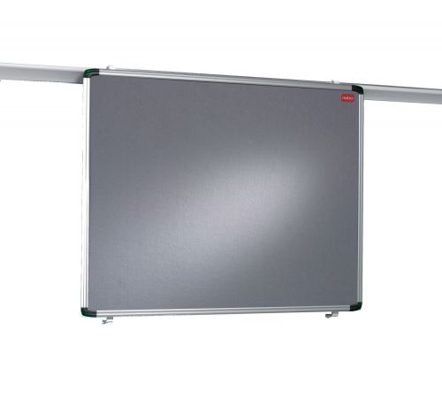 Nobo Pro-Rail Felt Notice Board 1200x900mm