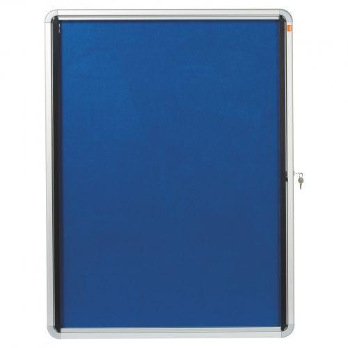 Nobo Internal Glazed Case Fabric 9xA4 Blue