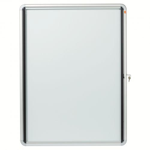 Nobo Glazed Noticeboard Lockable Ext 792x1040mm