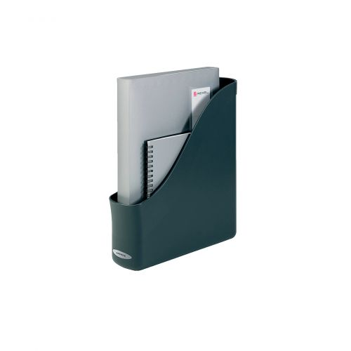 Rexel Agenda2 A4 Magazine Rack File Charcoal