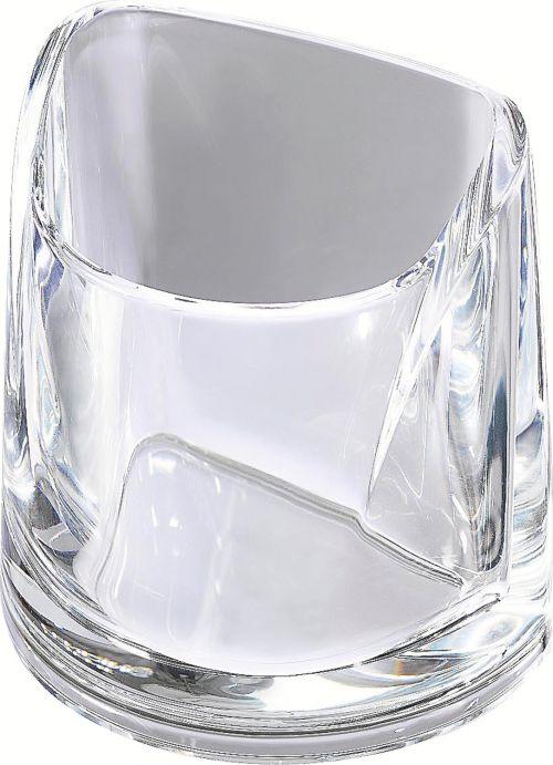 Rexel Nimbus Pencil Cup Clear 2101502