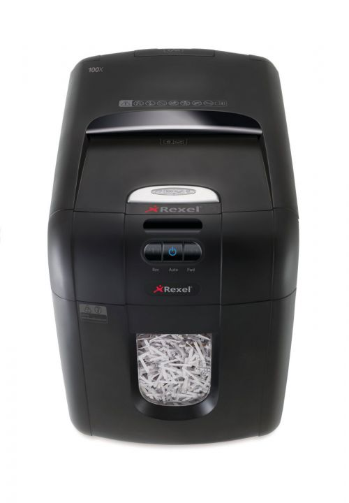 Rexel AutoPlus 130X Shredder Cross Cut P-4 Ref 2102559A [REDEMPTION - March 2019 Only]