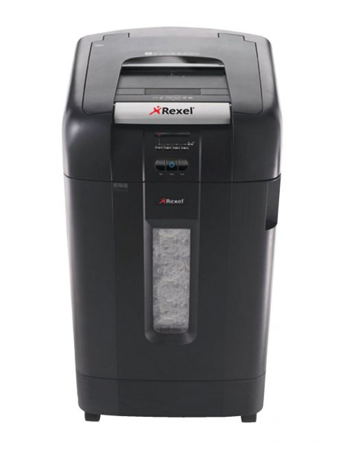 Rexel Auto Plus 750X Cross Cut Shredder Black 2103750