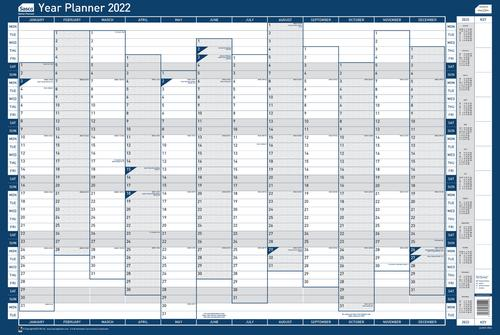 Sasco Year Planner Vertical 2022 2410157