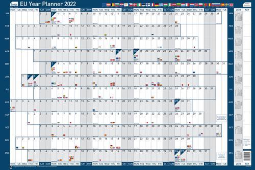 Sasco EU Planner Mounted 2022 2410160