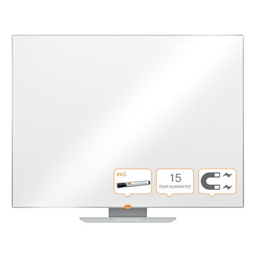 Nobo Classic 900x1200mm Drywipe Board Magnetic Alu Trim