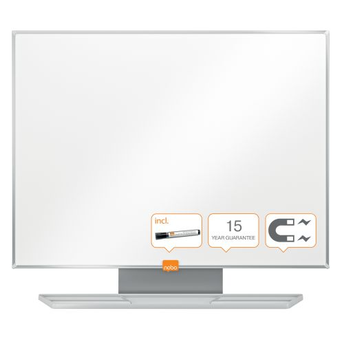 Nobo Classic Drywipe Board Magnetic 450x600mm 1902641