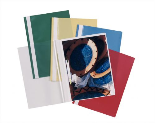 Esselte Report File Assorted A4 PK25