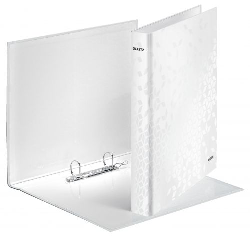 Leitz WOW Ring Binder A4+ 25mm White 42410001