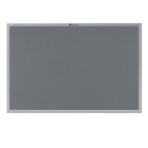 Nobo Prestige Noticeboard Aluminium Frame 900x600mm Grey 30230157