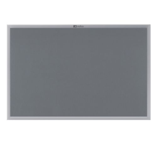 Nobo EuroPlus Noticeboard Felt 900x1200mm Grey