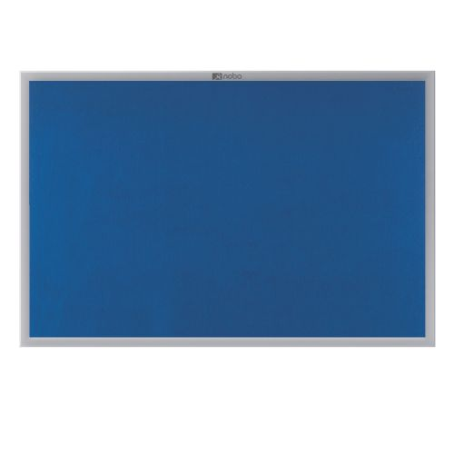 Nobo EuroPlus Felt Noticeboard 1200x1800mm Blue