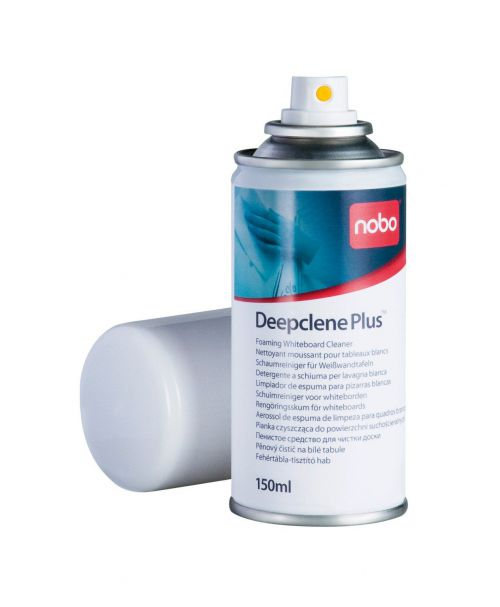 Nobo Deepclene Plus Whiteboard Aerosol Cleaning Foam 150ml Ref 34538408