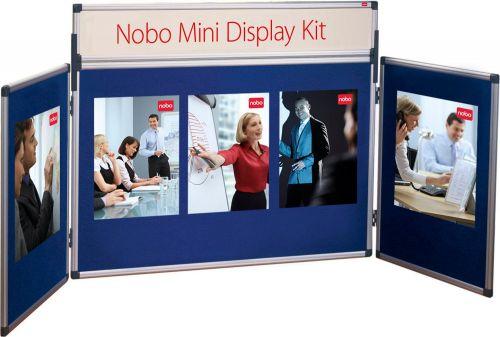 Nobo Mini Desktop Display Kit Blue 35231470