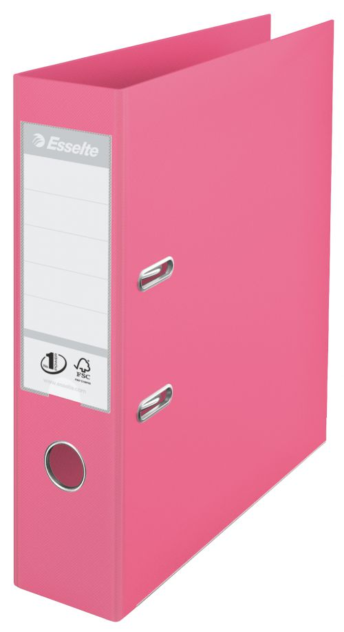 Esselte No.1 Solea Lever Arch File A4 PP 75mm Red PK10