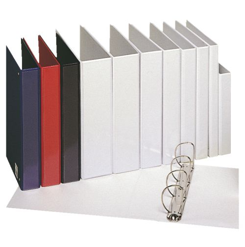 Esselte Essentials Pres Binder A4 60mm 4 D-Ring Blue PK10