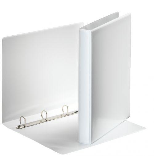 Esselte Essentials Pres Binder A4 20mm 4 D-Ring WH PK10