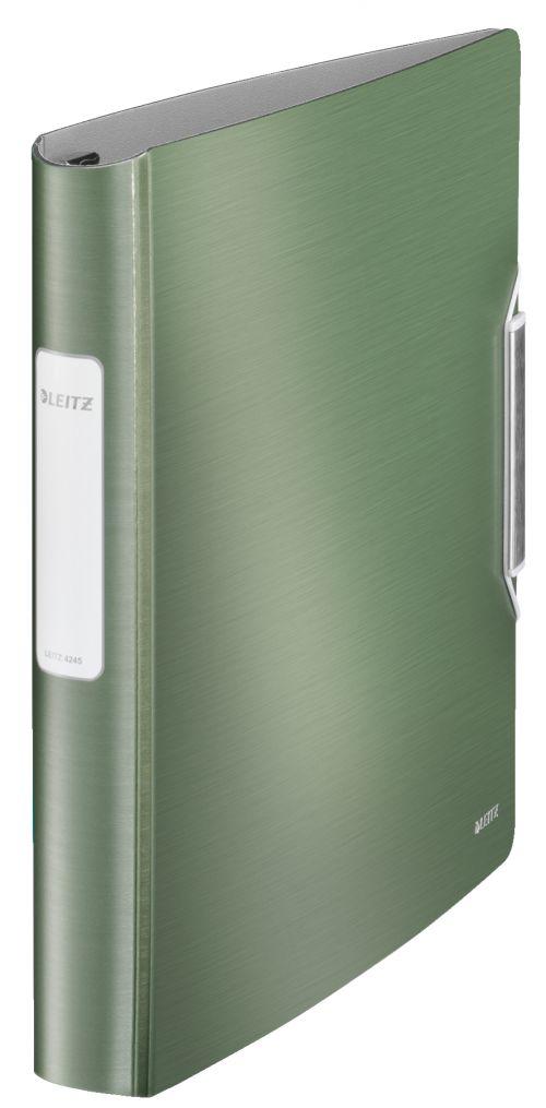 Leitz Active Style SoftClick 4-D Binder A4 30mm  GN PK5