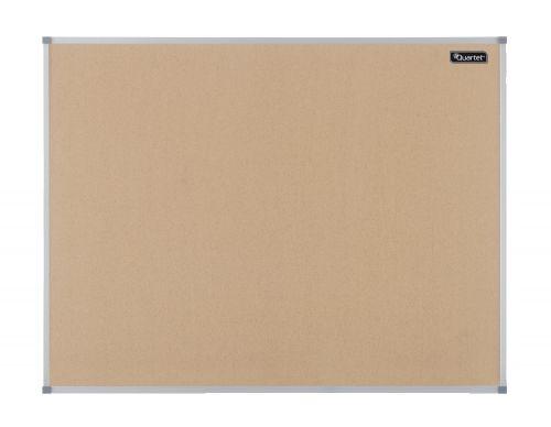 Quartet Cork Board Aluminium Frame 1800x1200mm