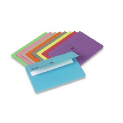 Document Wallet FC Red Pack of 50 45918 3P
