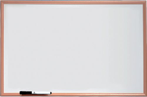 Nobo Basic Melamine Pine Frame Whiteboard 900x600mm