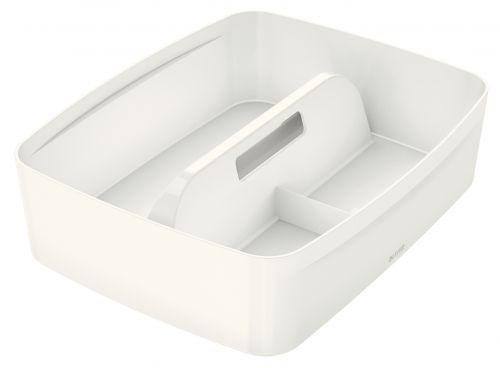 Leitz MyBox Organiser Tray with Handle Large White