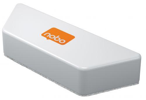 Nobo Magnetic Whiteboard Eraser White