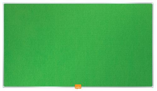 Nobo Widescreen 32in Felt Green Noticeboard