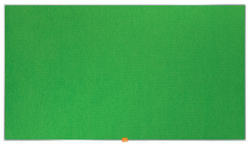Nobo Widescreen 55inch Noticeboard 1220x690mm Green Felt 1905316