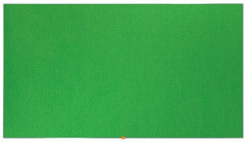 Nobo Widescreen 85in Felt Green Noticeboard