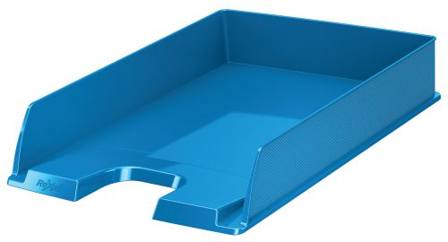 Rexel Choices Letter Tray A4 Blue 2115601