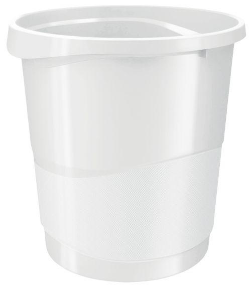 Rexel Choices Waste Bin White