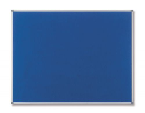 Nobo Classic Felt Noticeboard Blue 600x450mm
