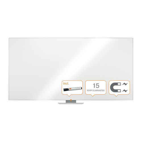Nobo Classic Steel Magnetic Whiteboard 2400x1200mm