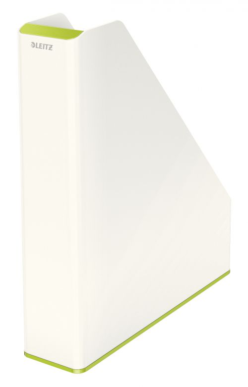 Leitz WOW Duo Colour Magazine File A4 Green 53621064 (PK1)