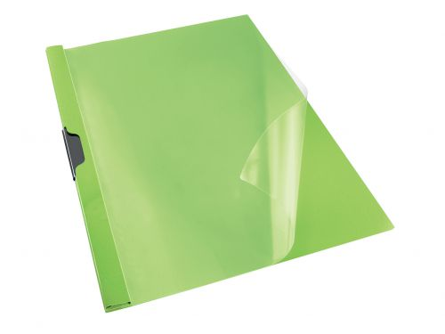 Rexel Choices Clip File A4 Green PK25
