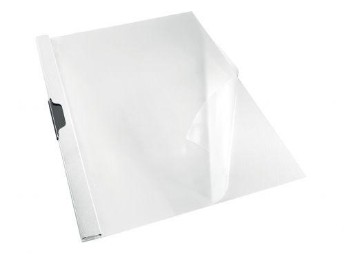 Rexel Choices Clip File Polypropylene A4 White (Pack 25)
