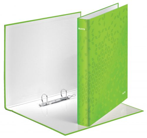 Leitz WOW Ringbinder 2D Ring 25mm GN PK10