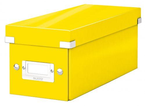 Leitz Click & Store CD Storage Box Yellow