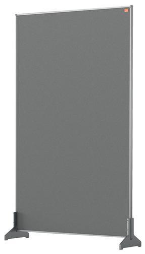 Nobo Impression Pro Desk Divider 600x1000mm Grey