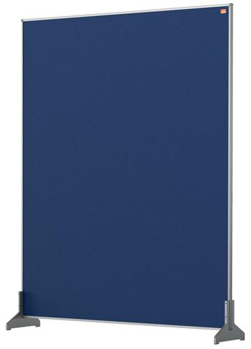 Nobo Impression Pro Desk Divider 800x1000mm Blue