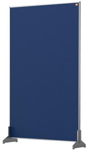 Nobo Impression Pro Desk Divider 600x1000mm Blue