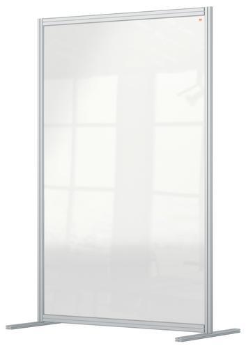 Nobo Premium Plus Floor Divider 1200x1800mm Acrylic