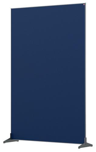 Nobo Impression Pro Free Standing Room Divider Screen Felt Surface 1200x1800mm Blue