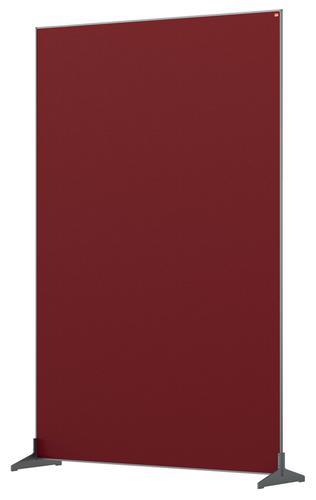 Nobo Impression Pro Floor Divider 1200x1800mm Red
