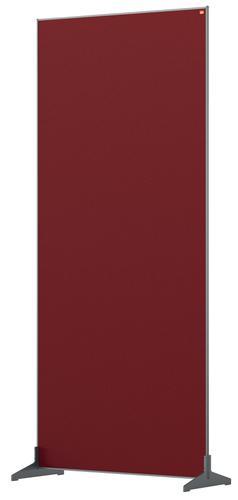 Nobo Impression Pro Floor Divider 800x1800mm Red